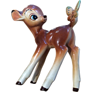 Vintage Walt Disney Productions Japan Bambi and Butterfly