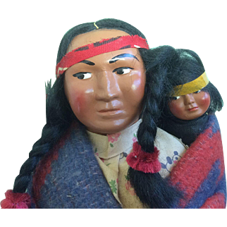 Skookum Bully Good Squaw and Infant Baby