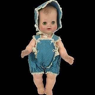 "Madame Alexander Vinyl Baby Tagged Clothes 12"" Little Genius"
