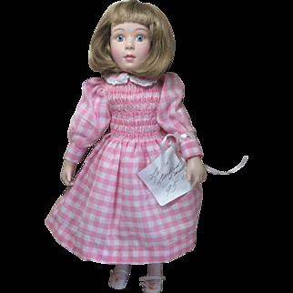 1992 Lenox Girl Doll Bisque Original Clothes Original Price 95.00