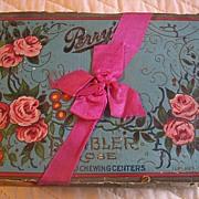 Antique Perry Candy Co Box Long Island City NY Rare
