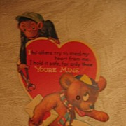 Charles Twelvetrees Monkey and Bear Mechanical Valentine