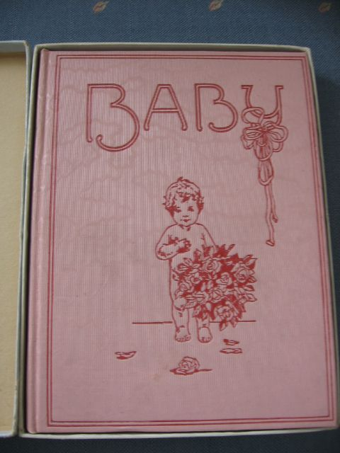 Meta Morris Gimball Famous Illustrator Early 1900s Babyhood Days Book Baby Book