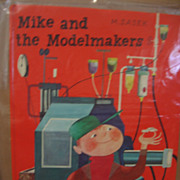 Matchbox Book Mike and the Modelmakers by Sasek 1st Edition