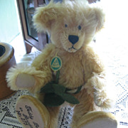 Hermann Golden Mohair Teddy Bear in Paradise Limited Edition