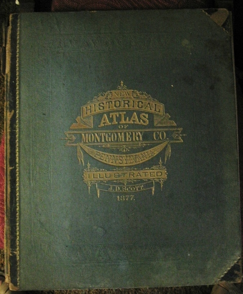 Montgomery County Pa Illustrated Atlas 1877