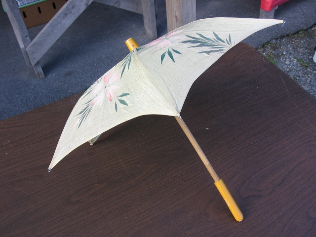 Occupied Japan Small Childs or Doll Umbrella