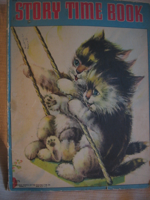 1940s Unusual Stories Childrens Book Story Time Book