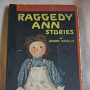 1918 Raggedy Ann Stories by Johnny Gruelle Book