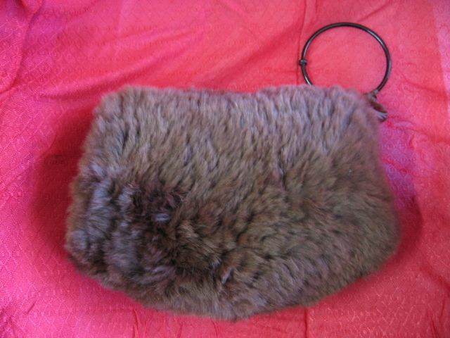 Vintage Childs Faux Fur Muff