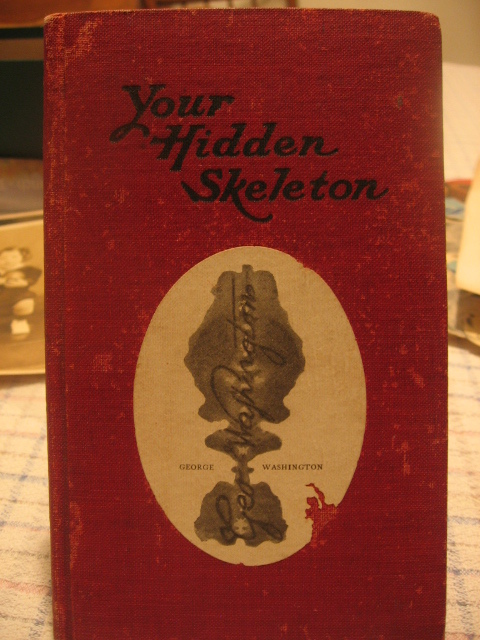 Rare Handwriting Autograph Book Your Hidden Skeleton