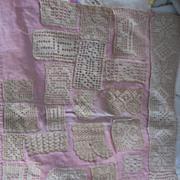 Vintage Handmade Lace Test Piece Sampler