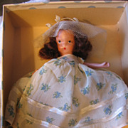4 Bisque Storybook Dolls Seasons Series in Orig Boxes