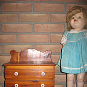 Vintage Doll Size Chest of Drawers