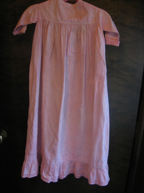 Primitive Baby Doll Gown in Precious Pink