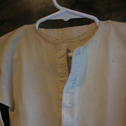 Vintage Knit Boys Undershirt