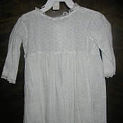 Toddler Boys Calico Baby Dress Early Pennsylvania Primitive