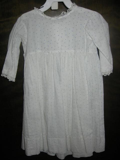 Toddler Boys Calico Baby Dress Early Pennsylvania Primitive