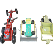 Hubley 3 Piece Toy Construction Set
