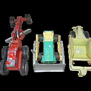 Hubley 3 Piece Toy Construction Set