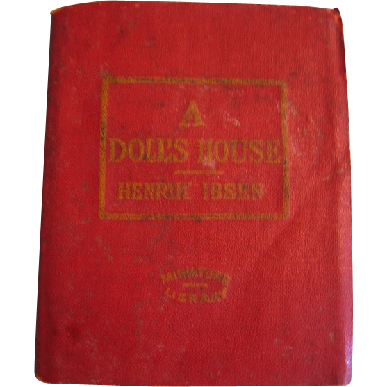 Miniature Book 1920s Era A Doll's House