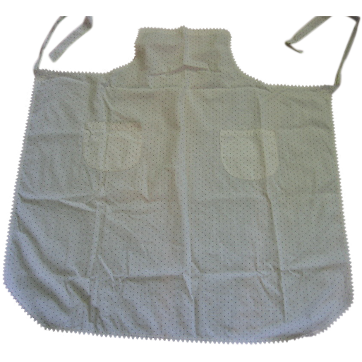Calico Apron with Bib Front