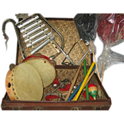 Vintage Kindergarten Musical Instruments
