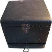 Victorian Collar Box with Drawer