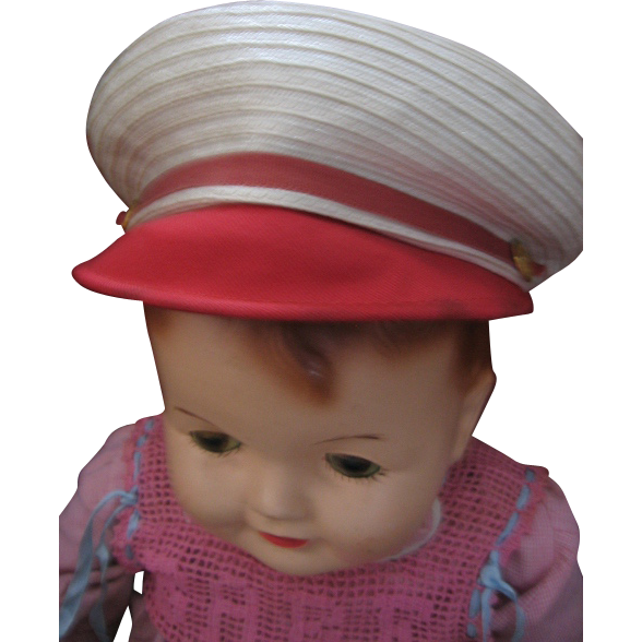 Vintage Sailor Cap for Child or Large Doll