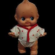 """Kewpie Squeak Doll 8"""" Tall Vinyl Cutie!!"""