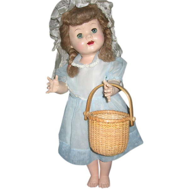Nantucket Type Basket for Dolls