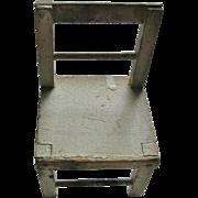 Schoenhut Toy Wooden Chair 1920s