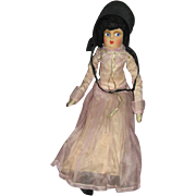 Amish or Mennonite Bed Doll or Sofa Doll Boudoir Type Cloth Doll