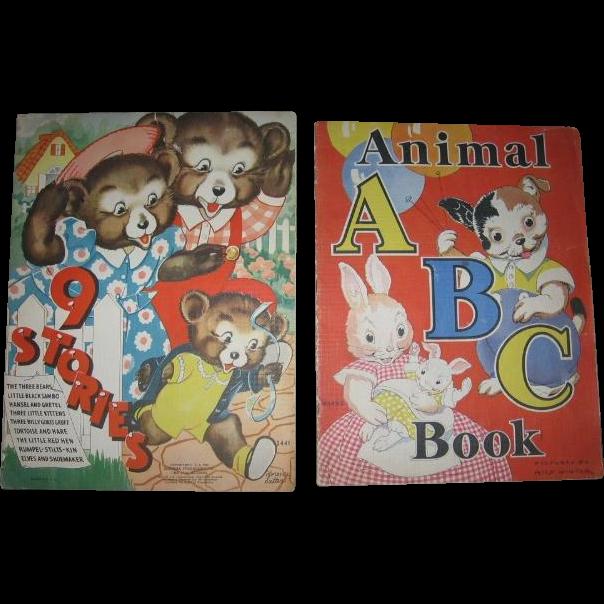 Black Sambo in Wonderfully Illustrated 1930s Oversized Childrens Book