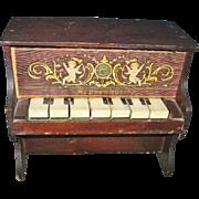 Miniature Schoenhut Piano 7 Keys Works!