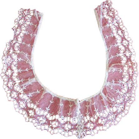 Lovely Net Lace Collar for Lady