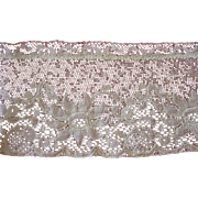 Lovely Old Lace with Flower Design
