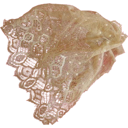 Lovely Net Lace for Doll Bonnet