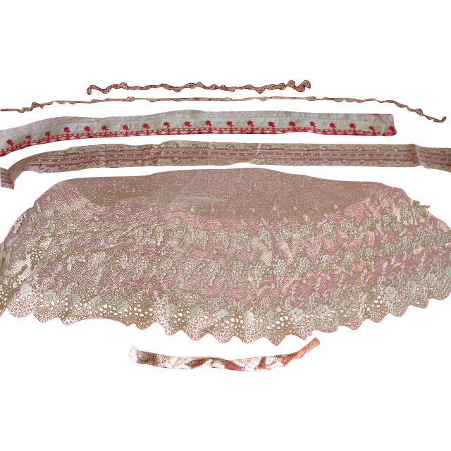 Variety of Old Lace Pieces for Projects