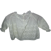 Antique Baby Over Blouse