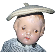 Tam O Shanter for Doll Little Bonnet