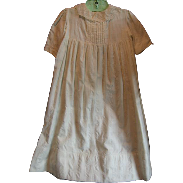 Long White Baby Gown