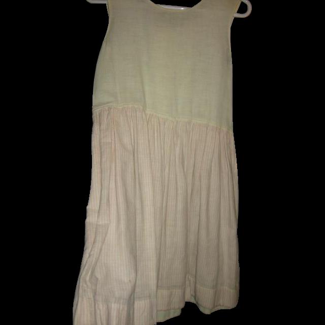 Teen or Ladys Winter Flannel Striped Petticoat