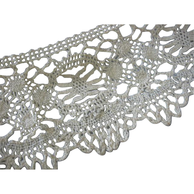Old Lace 4 Inch Wide Trim for Antique Projects