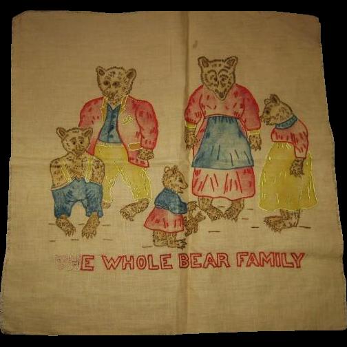 Bears Bears and Bears The Whole Bear Family Needlework to Frame