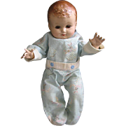 """Plassie Doll by Ideal 14"""" Hard Plastic Baby Doll"""