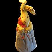 Easter Bunny Rabbit Salesman Sample Toy Germany