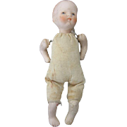 Bisque Head Baby with Cloth Body