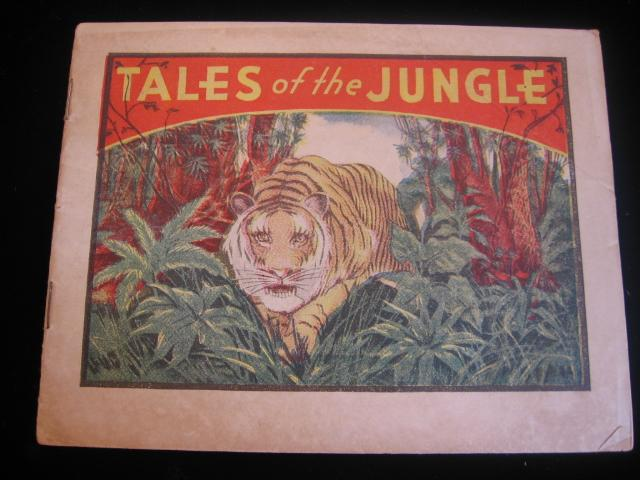 Advertising Booklet Tales of the Jungle Plus Dr. Miles Health Aides