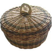 Small Doll Size Sewing Basket